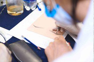 Thực hành vẽ chân mày từ cơ bản