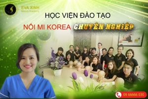 Eva Xinh - địa chỉ dạy nối mi đi nước ngoài uy tín
