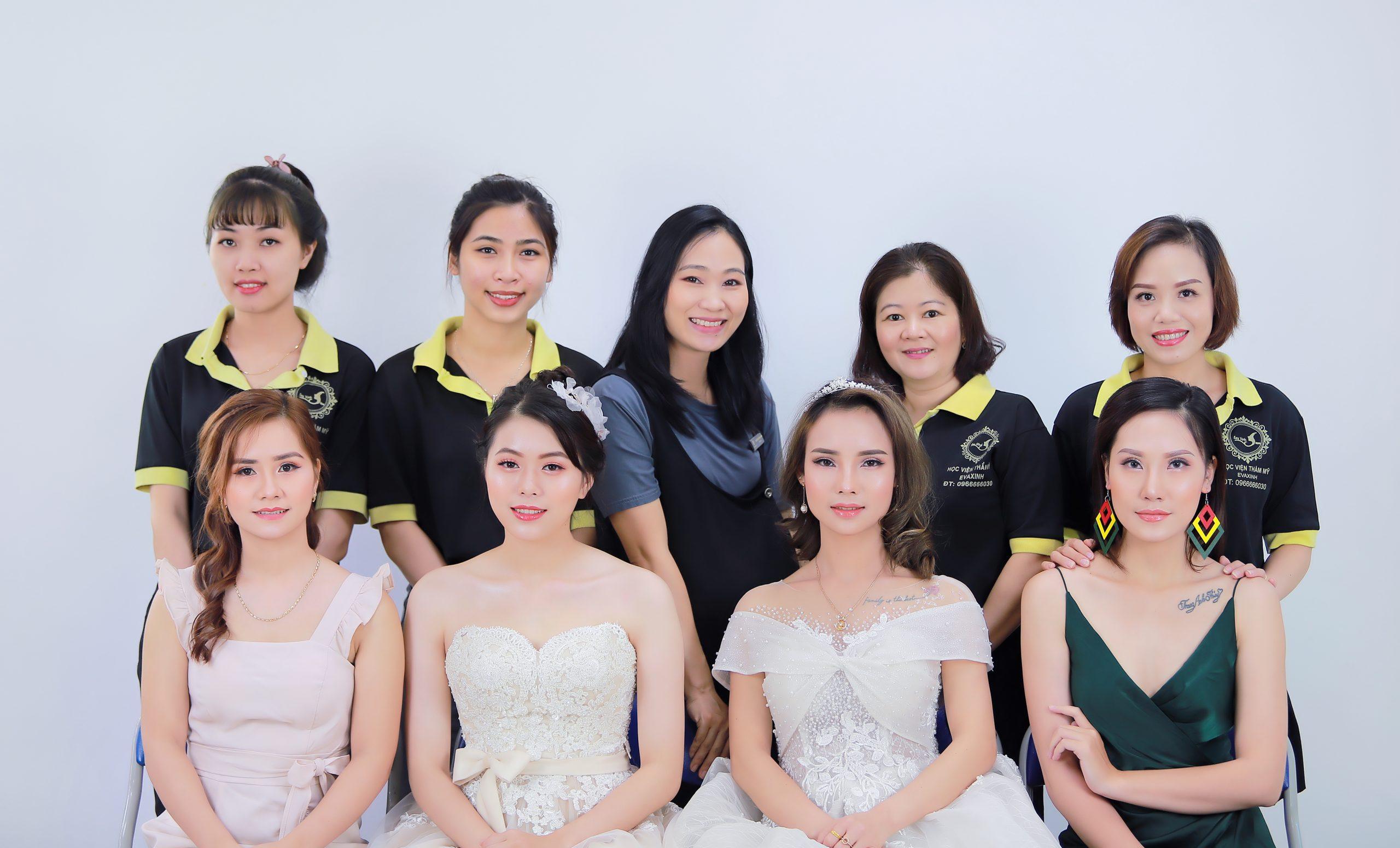Học trang điểm cô dâu ở đâu tốt nhất tại Eva Xinh